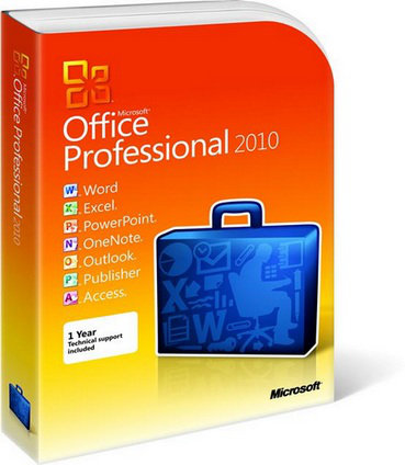 Microsoft office pro 2010 french