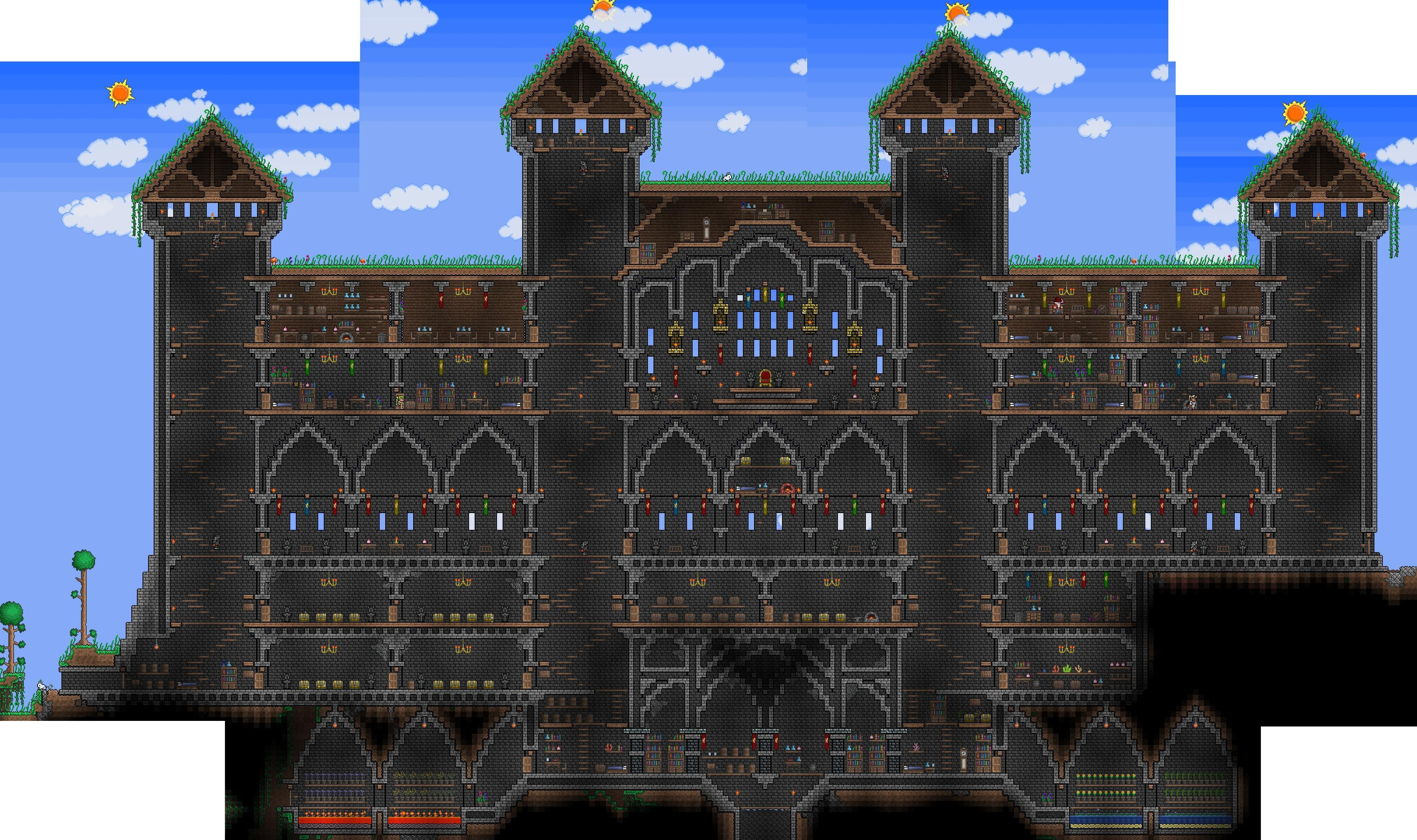 Terraria castle tower castle tower any tips terraria - Terraria Castle Tower Castle Tower Any Tips Terraria 47