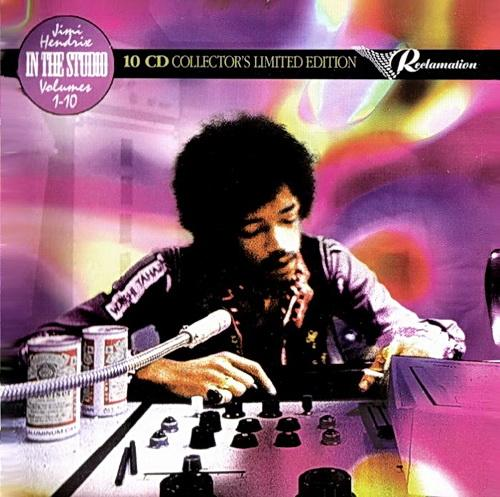 Jimi Hendrix - In the Studio Vol.1-10 [Box-Set] (2014)