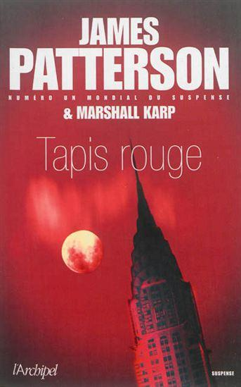 Tapis rouge - James Patterson
