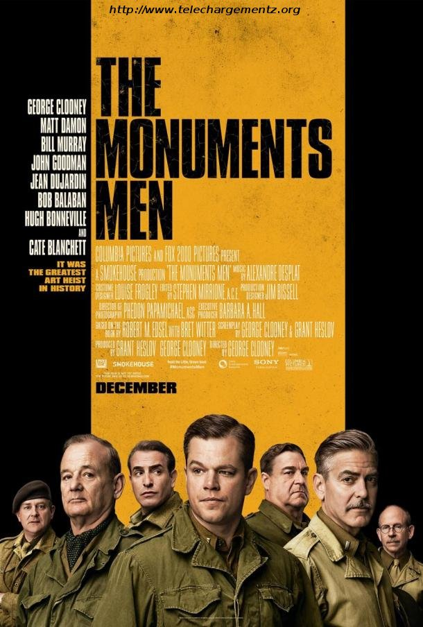 The Monuments Men (2014) (VOSTFR-TS)