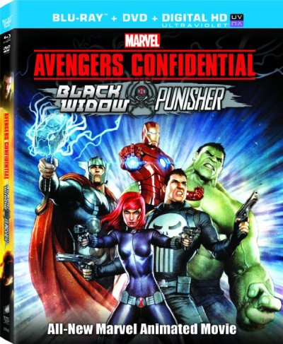 Avengers Confidential Black Widow And Punisher (2013) 720p BRRip AAC x264 BUZZccd