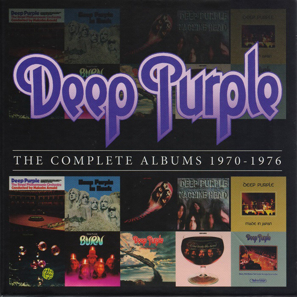 Deep Purple - The Complete Albums 1970-76 [10 CD Box] (2013)