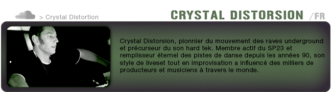 Bio Crystal Distorsion