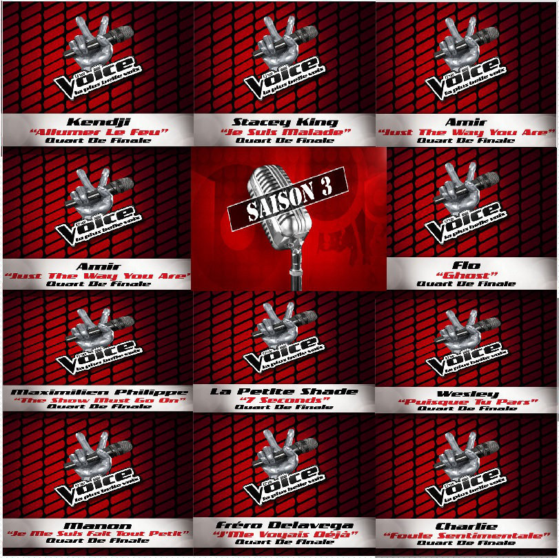 The Voice 3 Les Singles (Quart de Finale)