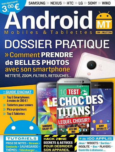 [Multi] Android Mobiles & Tablettes N�25 - Juin Juillet 2014