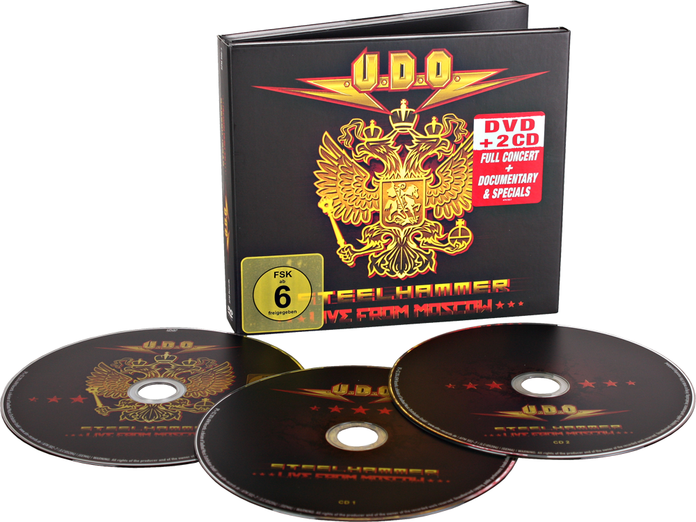 U.D.O. - Steelhammer - Live From Moscow [DVD9] [Multi]