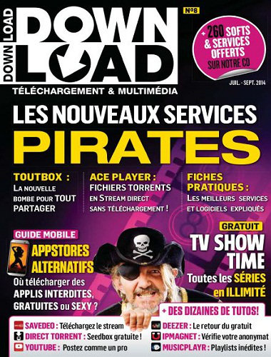 [Multi] Download N°8 - Juillet Aout Septembre 2014