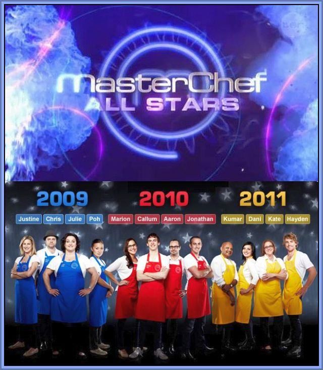 affiche MasterChef Australie Edition All Stars