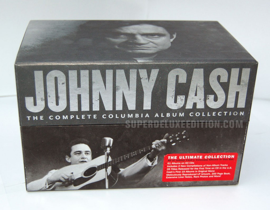 Johnny Cash - The Complete Columbia Album Collection (1958-2012) [FLAC]
