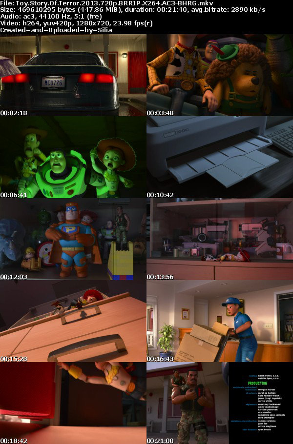 Toy Story Of Terror 2013 720p BRRIP X264 AC3-BHRG