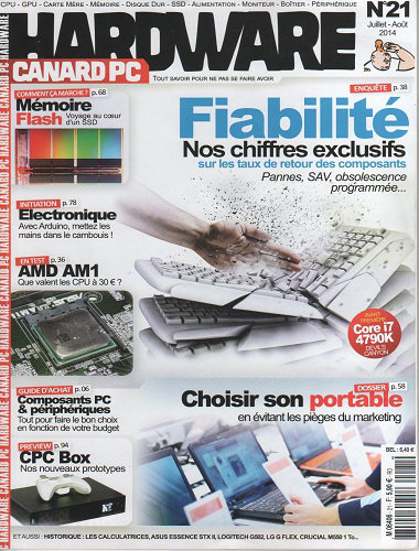 [Multi] Canard PC Hardware N°21 - Juillet Aout 2014