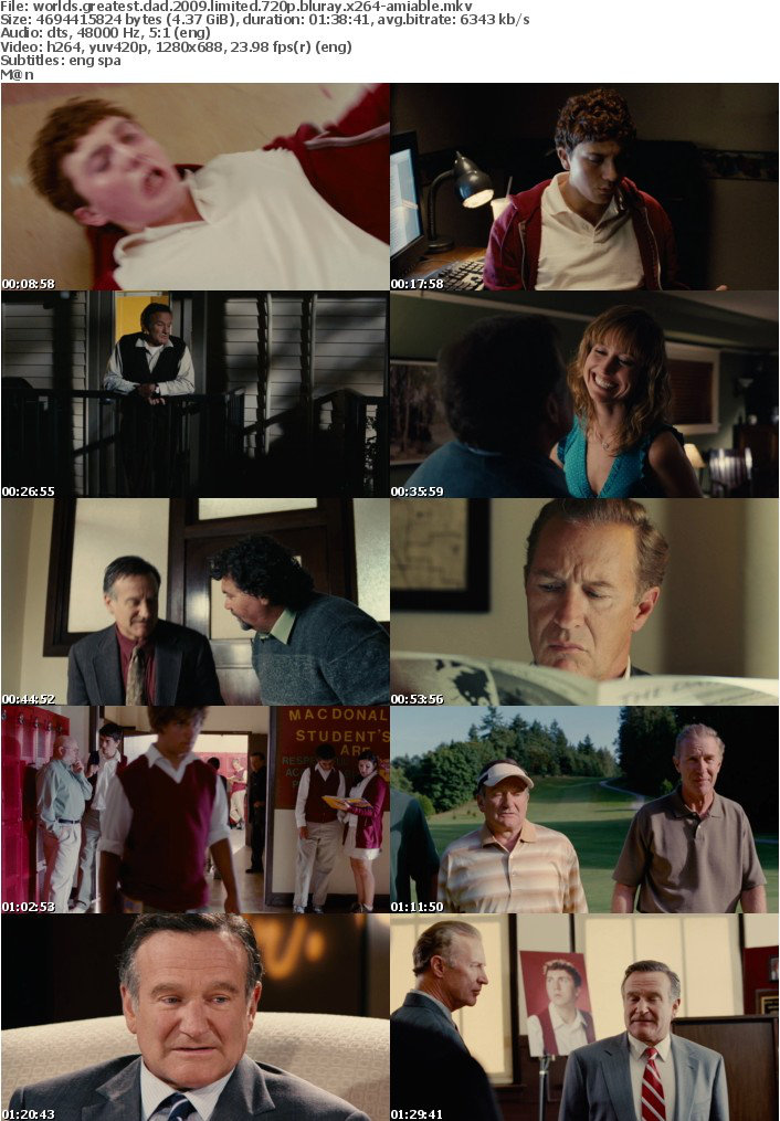 Worlds Greatest Dad 2009 LIMITED 720p BluRay X264-AMIABLE