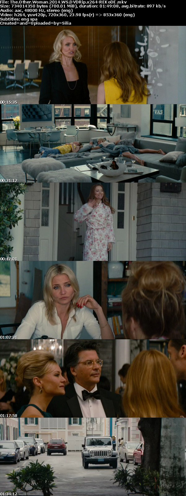 The Other Woman 2014 WS DVDRip x264-REKoDE