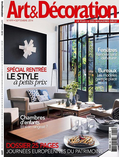 [Multi] Art & Décoration N°499 - Septembre 2014