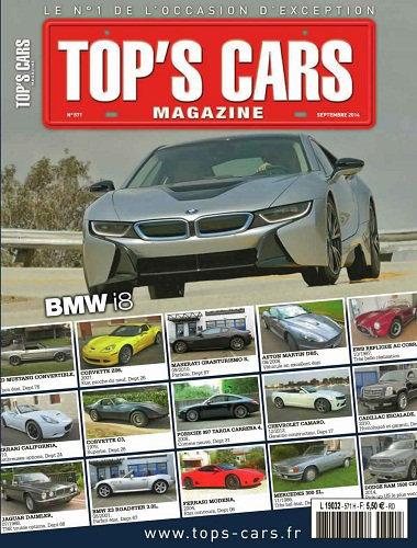[Multi] Top's Cars Magazine N°571 - Septembre 2014