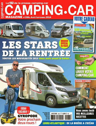 [Multi] Camping Car Magazine N�266 - Aout Septembre 2014