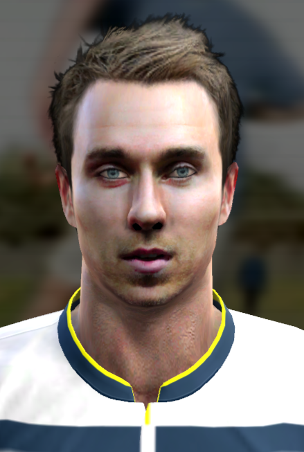 PES 2013 Eriksen & Darmian Face by Prince