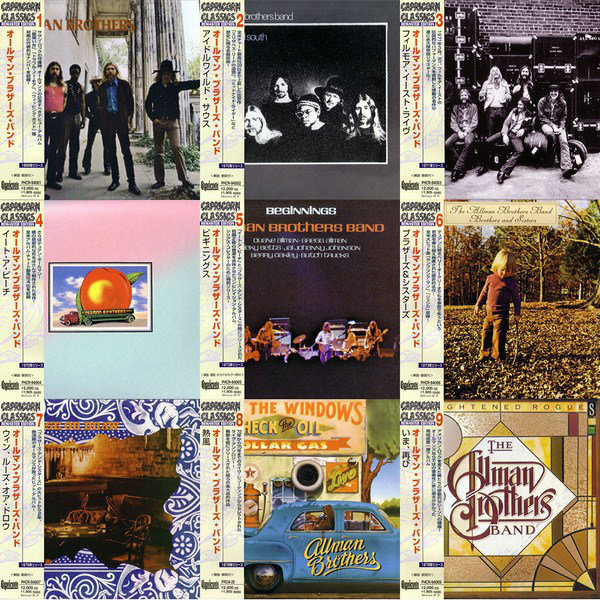 The Allman Brothers Band - The Capricorn Years 9CD Box [Japan] (2007) [FLAC]