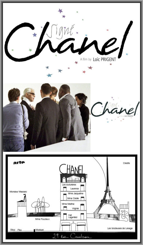 affiche Sign� Chanel