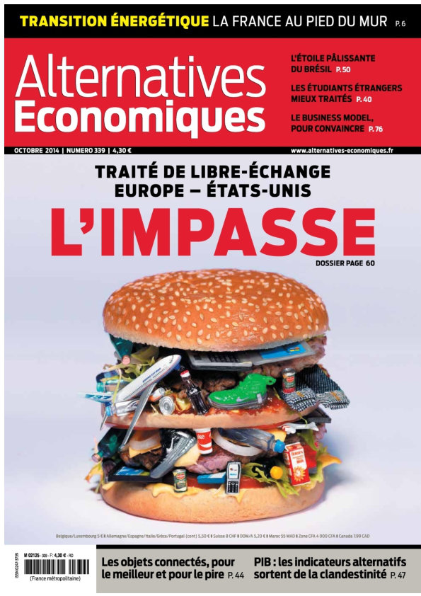 Alternatives Economiques No.339 - Octobre 2014