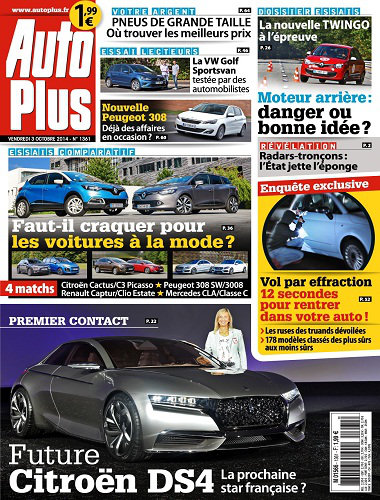 [Multi] Auto Plus N°1361 - 03 au 09 Octobre 2014