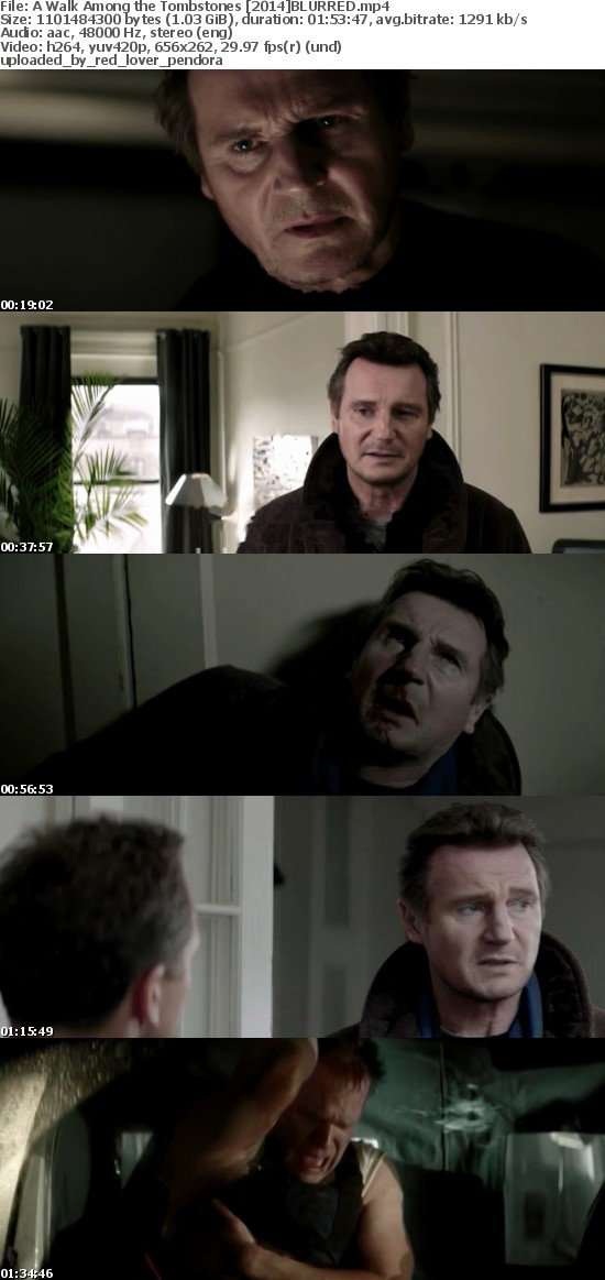 A Walk Among the Tombstones [2014] HDRip BLURRED