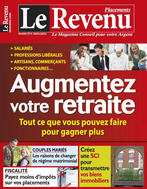 Le Revenu Placements N°144 Novembre 2014