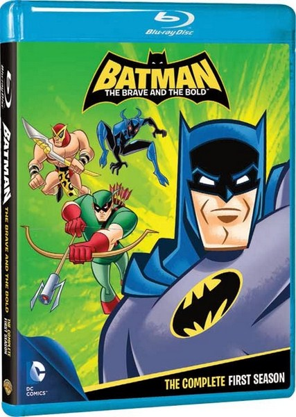 Batman The Brave And The Bold S01 [HDRip-1080p] [Multilanguage]