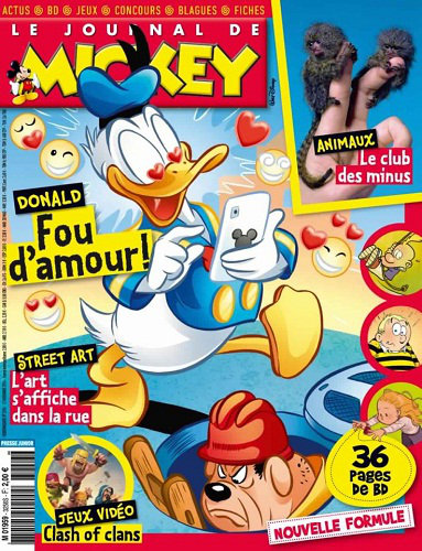 [Multi] Le Journal de Mickey N°3256 - Du 12 au 18 Novembre 2014