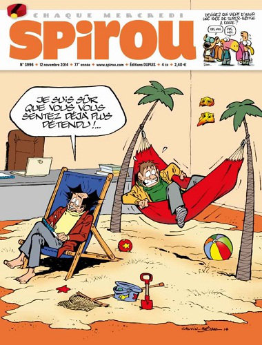 [Multi] Le Journal de Spirou N°3996 - Du 12 au 18 Novembre 2014