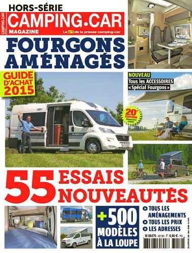 [Multi] Camping-Car magazine Hors-Série N°35 - Guide D'Achat 2015