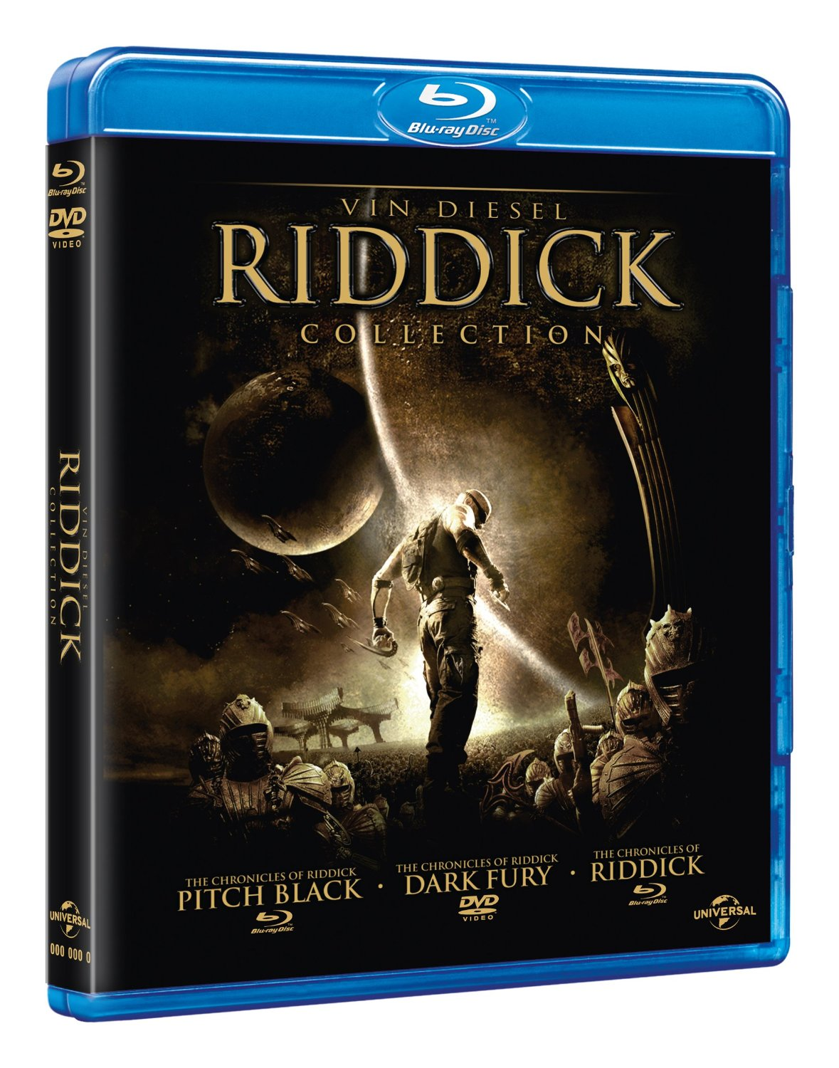 Riddick Trilogy UNRATED