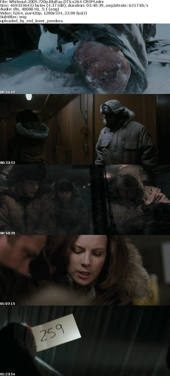 Whiteout 2009 720p BluRay DTS x264-CROM