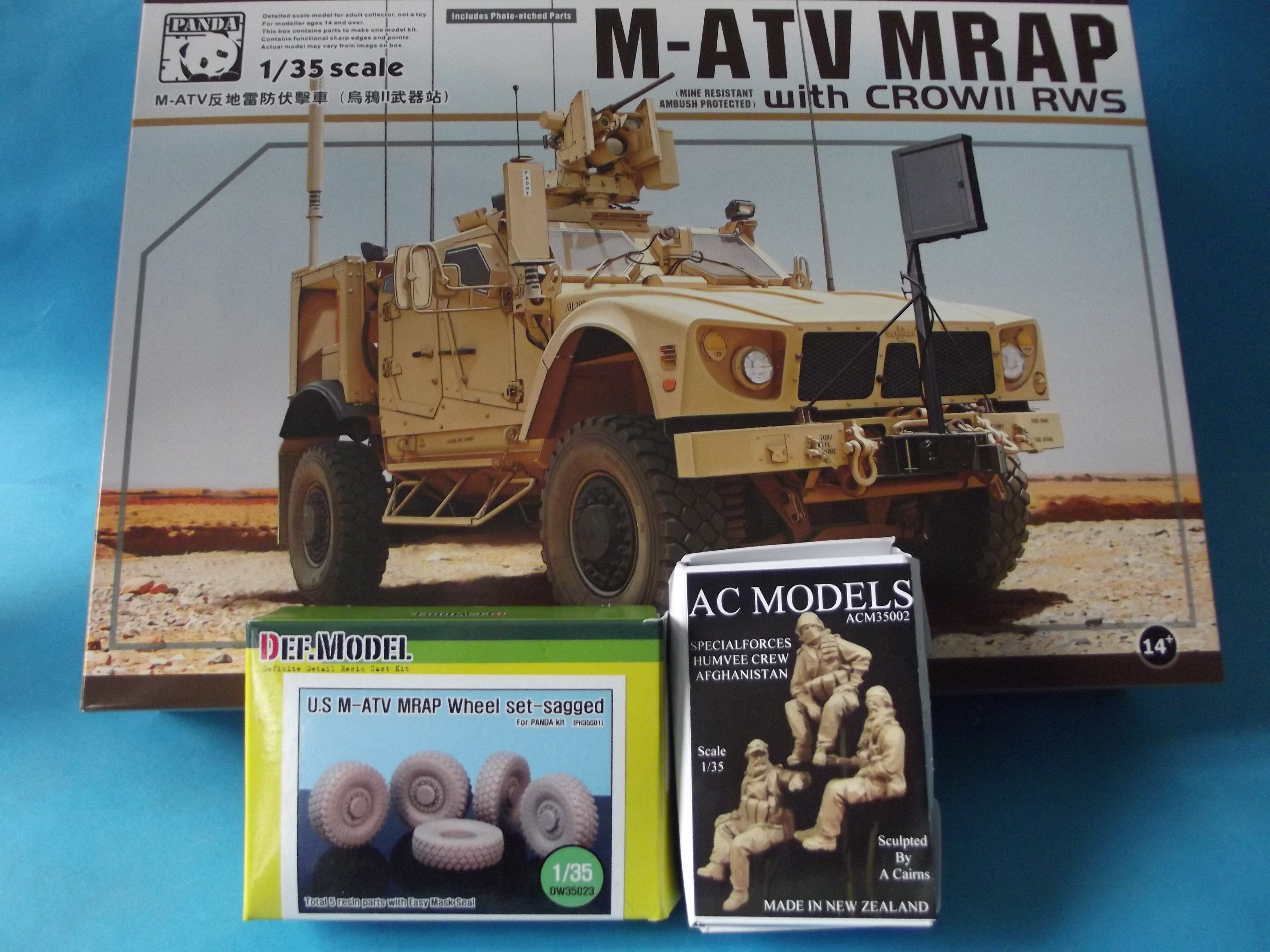 m-atv mrap with crowll rws Rnfa