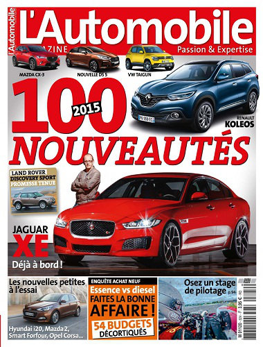 [Multi] L'Automobile Magazine N°824 - Janvier 2015