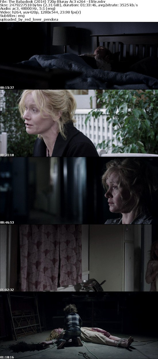 The Babadook (2014) 720p Bluray Ac3 x264 - Elite