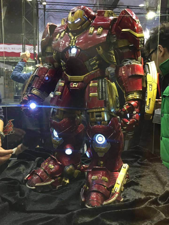 "AVENGERS 2 : AGE OF ULTRON - IRON MAN MARK XLIV ""HULKBUSTER"" (MMS285) Fd0l"