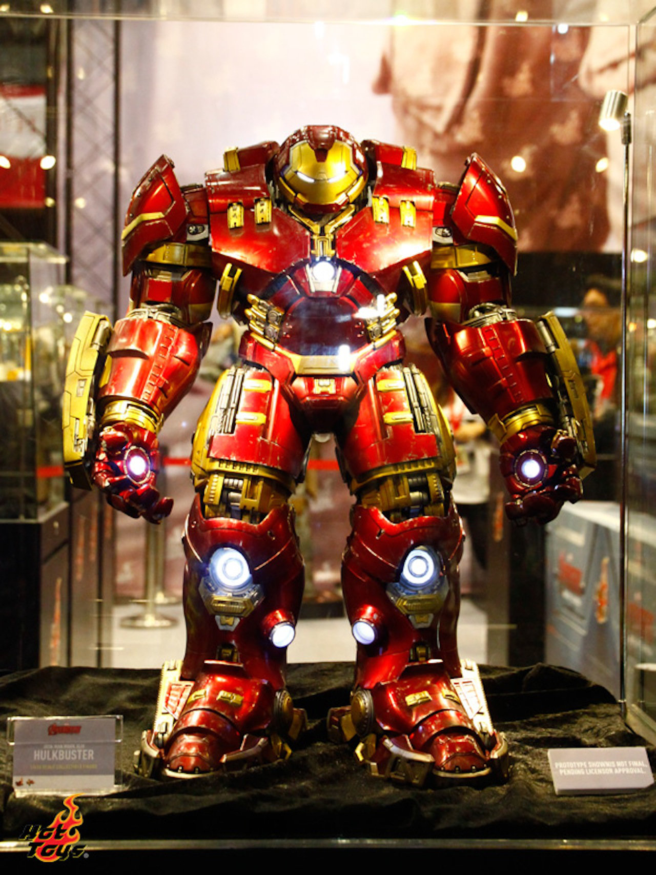 "AVENGERS 2 : AGE OF ULTRON - IRON MAN MARK XLIV ""HULKBUSTER"" (MMS285) Hzd5"