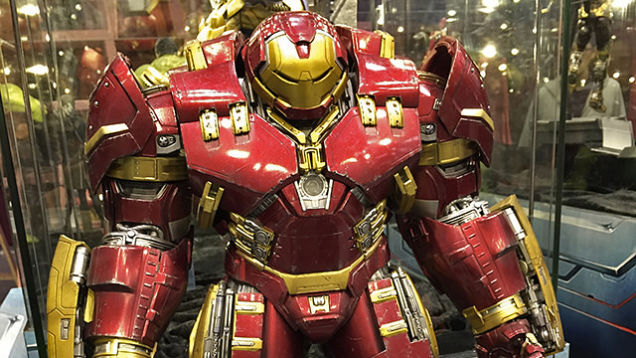 "AVENGERS 2 : AGE OF ULTRON - IRON MAN MARK XLIV ""HULKBUSTER"" (MMS285) - Page 2 S6eg"