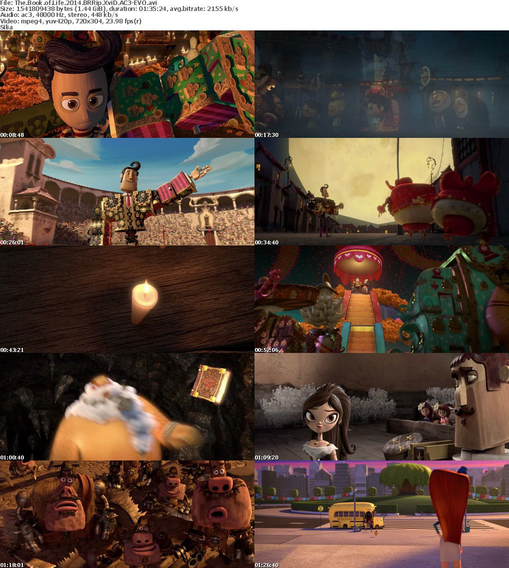 The Book of Life (2014) Screenshots