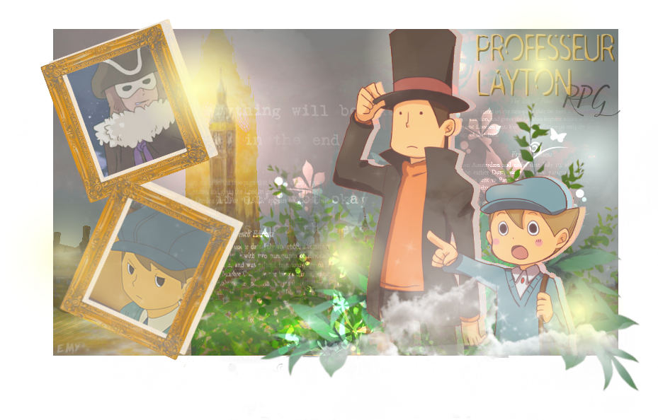 Professeur Layton et la menace de Chronos