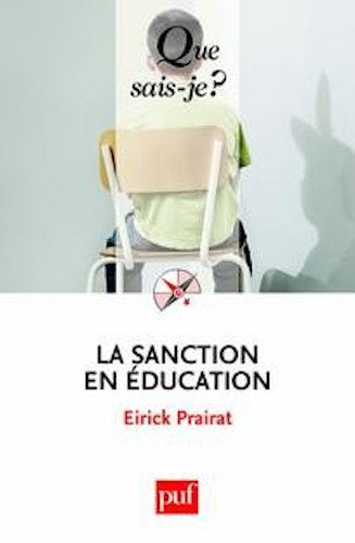 La Sanction en Education - Eirick Prairat