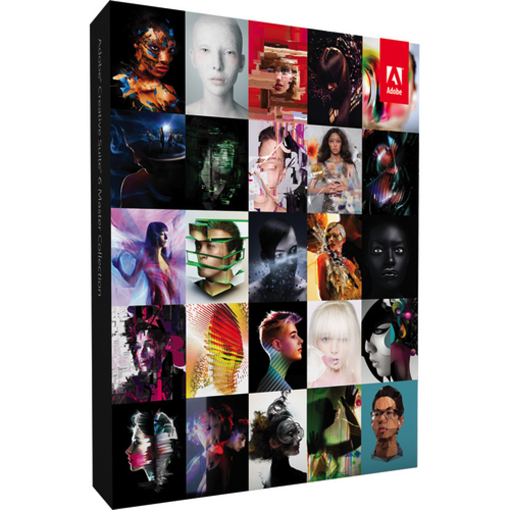 Adobe Creative Suite CS6 Master Collection + Activation