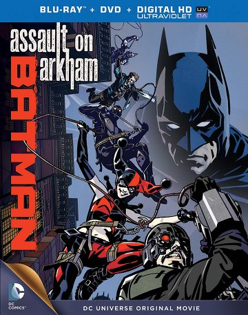 Batman : Assault on Arkham affiche