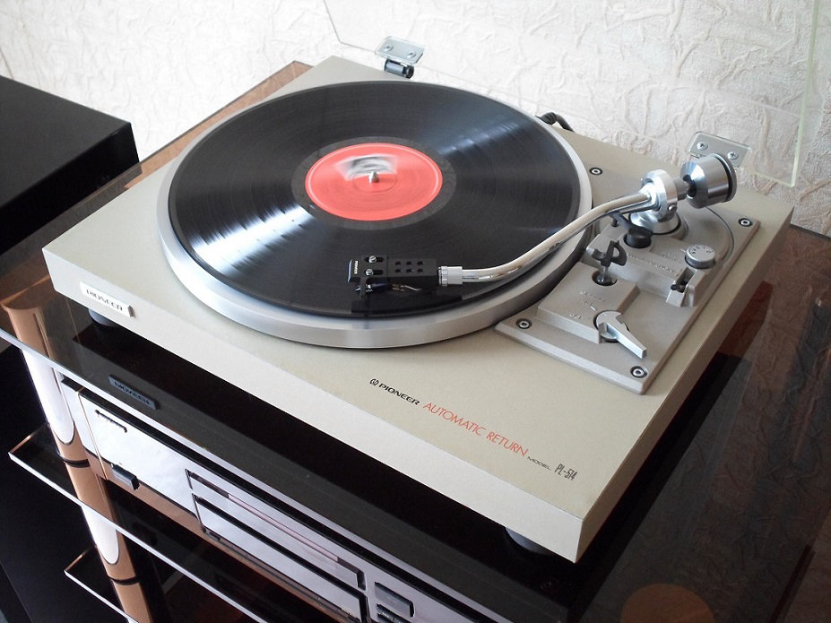 Son faible avec platine vinyl branch e sur ampli traitement audio video - Platine vinyle ampli integre ...