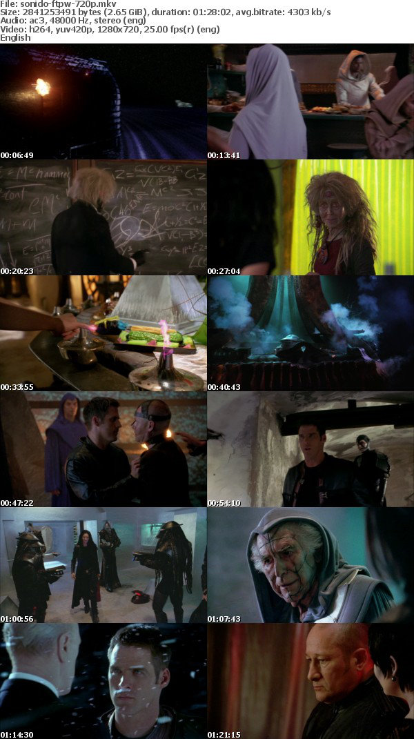 Farscape The Peacekeeper Wars 2004 720p BluRay x264-SONiDO