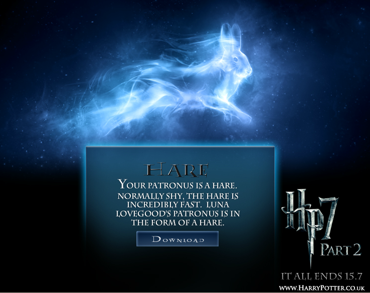 Maison et Patronus - Test Harry Potter. D9na