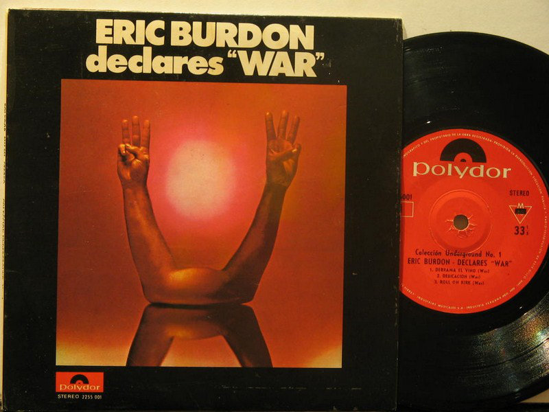 Eric Burdon & War - Discography [FLAC]