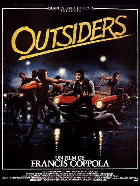 Outsiders (1983) affiche